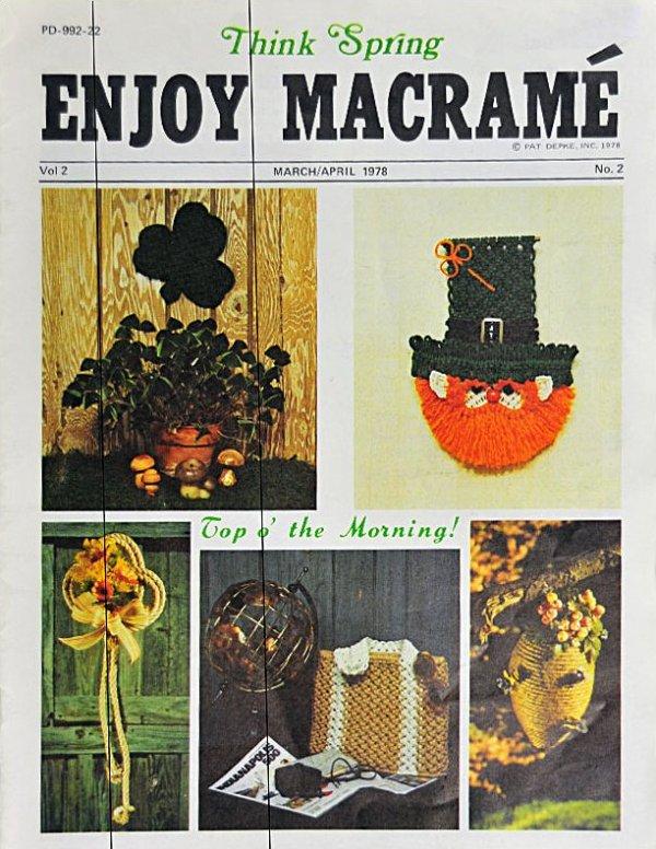 Enjoy Macrame':  M1003