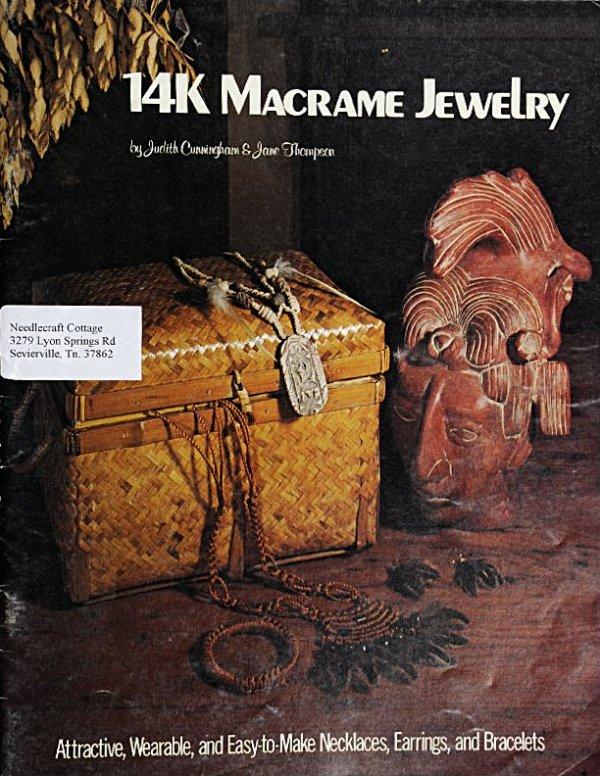 14K Macrame Jewelry:  M1001