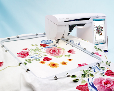 Husqvarna Viking Embroidery Machine Diamond Deluxe