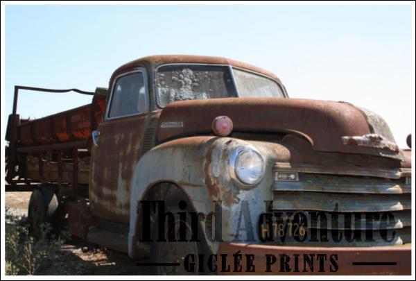 726 Truck Giclée Print