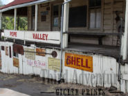 General Store Giclée Print, Americana Decor, Photography, Northern California