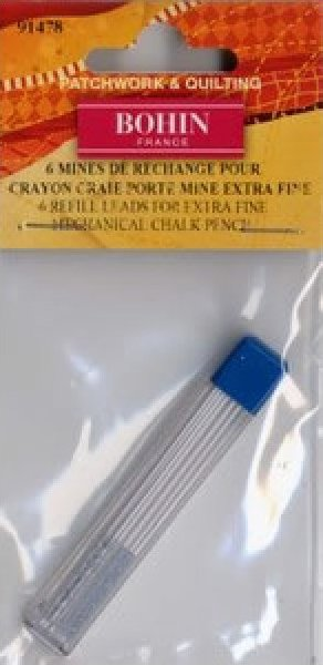 Bohin 9MM White Refill for Mechanical Chalk Pencil