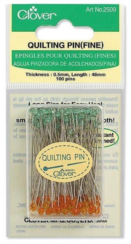 Clover Quilting Pins (Fine)