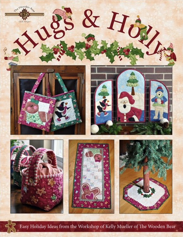 (TWBB04)   Hugs & Holly Book