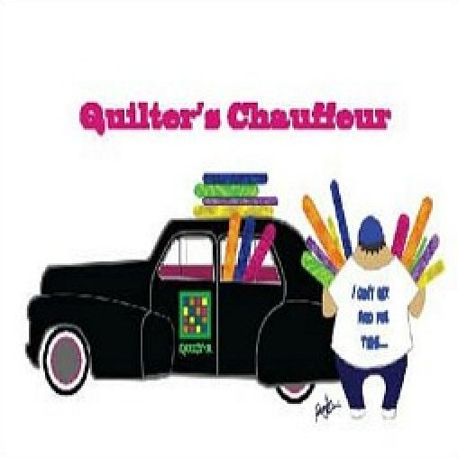 Quilter's Chauffer Sticky note pad