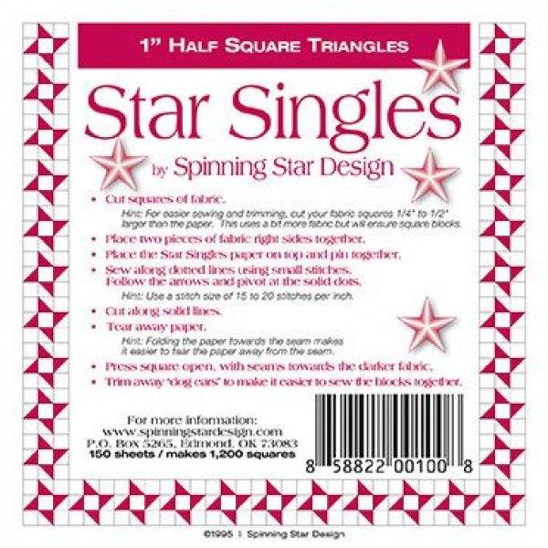 1 Spinning Star Desisns Star Singles