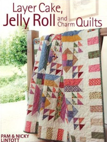 Layer Cake, Jelly Roll and Charm Quilt