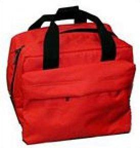 Portable Nylon Canvas Tote - Red