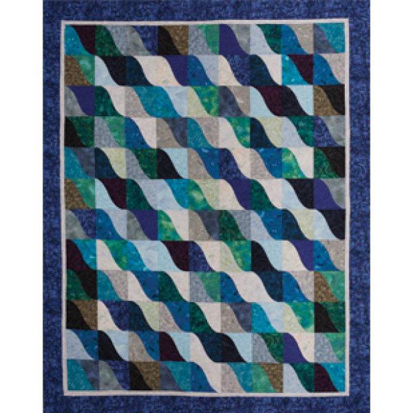 Wave Runner Quilt Pattern from Cozy Quilt Designs TQC327 : cozy quilts designs - Adamdwight.com