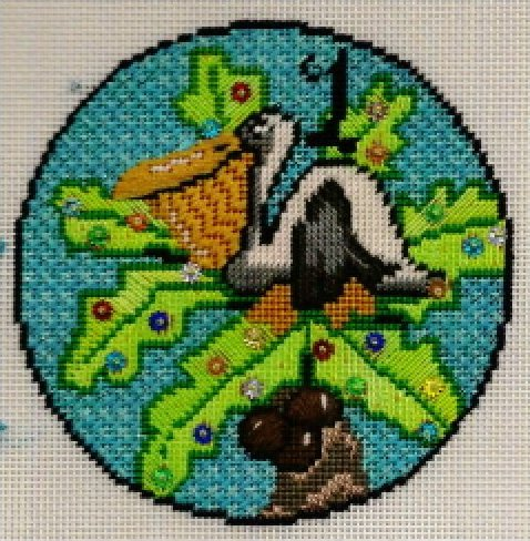 01 - A Pelican in a Palm Tree