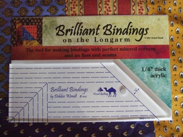Brilliant Bindings for Longarm Quilters