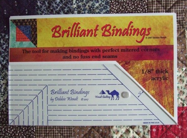 Brilliant Bindings for ALL Quilters