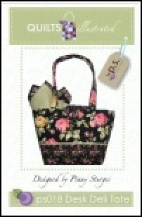 PS018 Desk Deli Tote by Quilts Illustrated designed by Penny Sturges