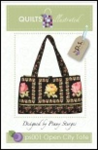 PS001 Open City Tote by Quilts Illustrated designed by Penny Sturges