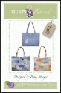 PS009 Weekender Tote by Quilts Illustrated designed by Penny Sturges