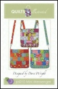 PS010 Mini Messenger by Quilts Illustrated designed by Penny Sturges