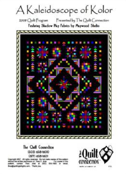 A Kaleidoscope of Kolor by The Quilt Connection  Digital Download .pdf