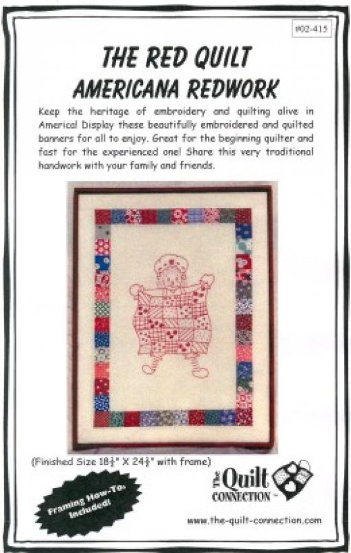 The Red Quilt by The Quilt Connection