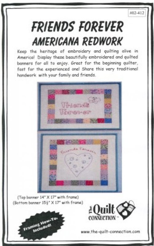 Friends Forever (Aunt Gracie's) by The Quilt Connection