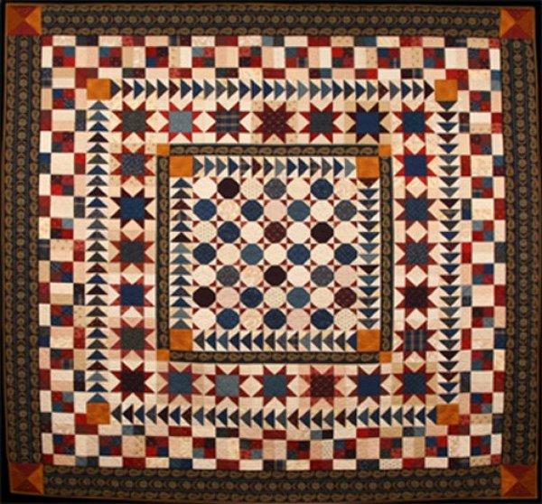 Pride & Glory Medallion Pattern & Bonus Quilt Size - #1013