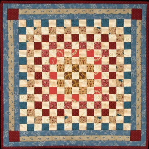Catherine's 1800 Doll Quilt - #1003