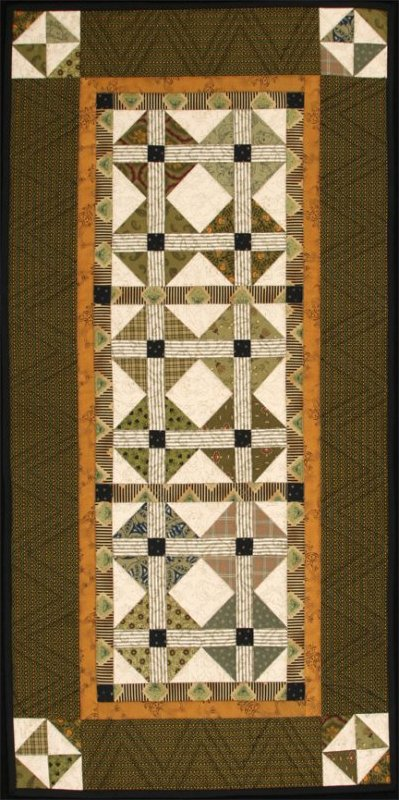Olive's Table Runner Quilt - #1007