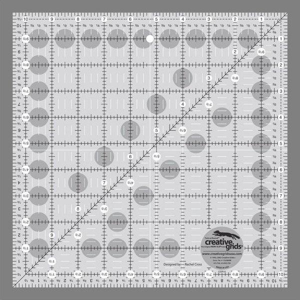 Creative Grids 10 1/2 Inch Square