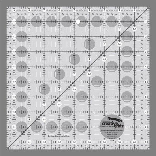 Creative Grids 9 1/2 Inch Square