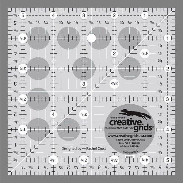 Creative Grids 5 1/2 Inch Square
