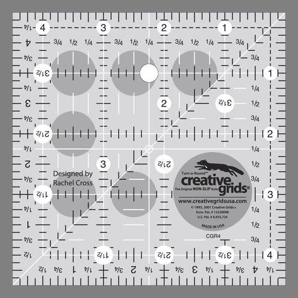 Creative Grids 4 1/2 Inch Square