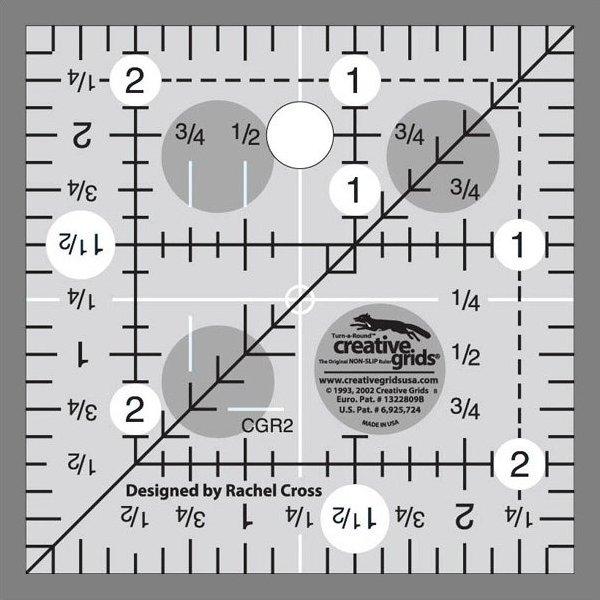 Creative Grids 2 1/2 Inch Square
