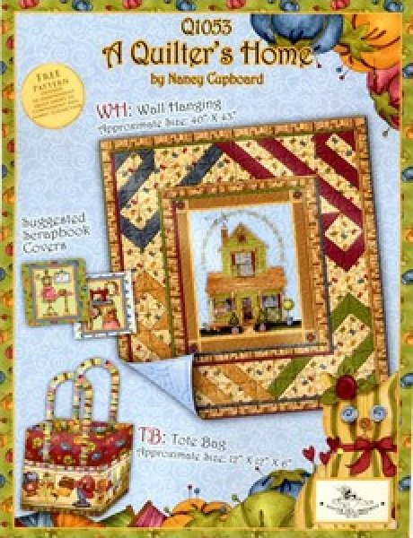 SSI - A Quilter's Home-FREE Project Sheet