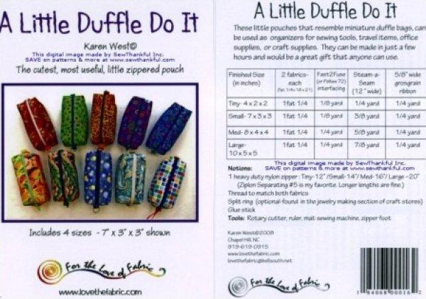 A Little Duffle Do It-Karen West-FLF117
