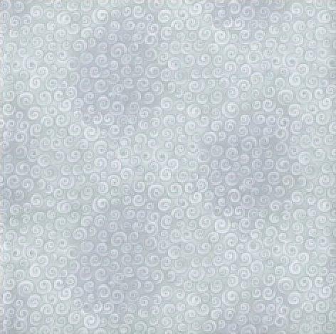 Blank Quilting - Spirals-Metallic/Fog - 5221M