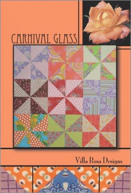 Carnival Glass - Villa Rosa