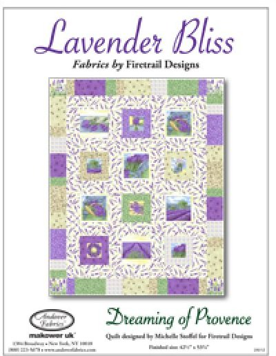 Andover - Lavender Bliss Project Sheet