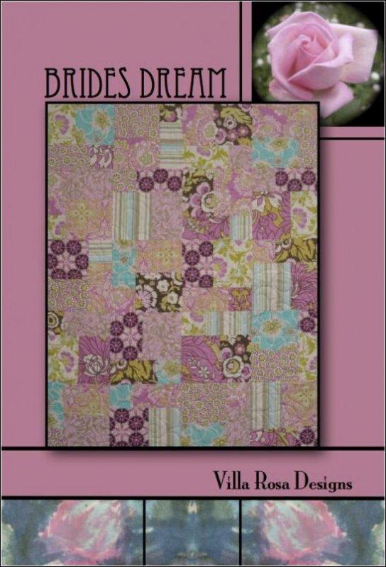 Bride's Dream - Villa Rosa - 36x45 (47x56 with optional border) - F6ths