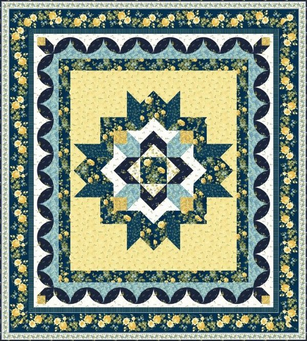 Peaceful Beauty Quilt Pattern