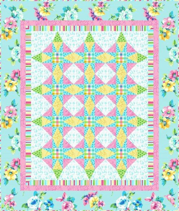 Confetti Dreams Quilt Pattern