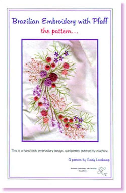 Brazilian Embroidery with Pfaff the pattern...