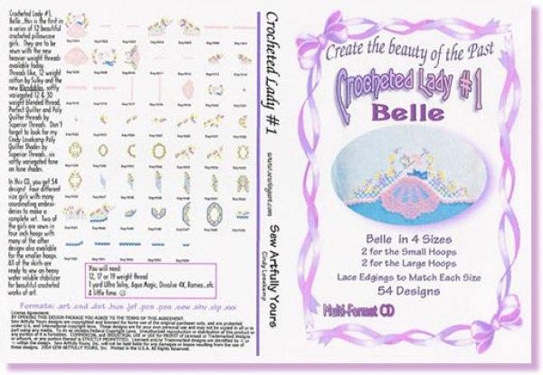 Crocheted Lady #1 Belle