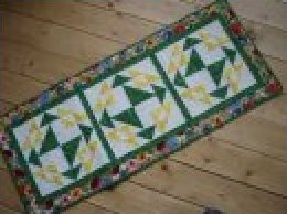 Corn and Beans Table Runner