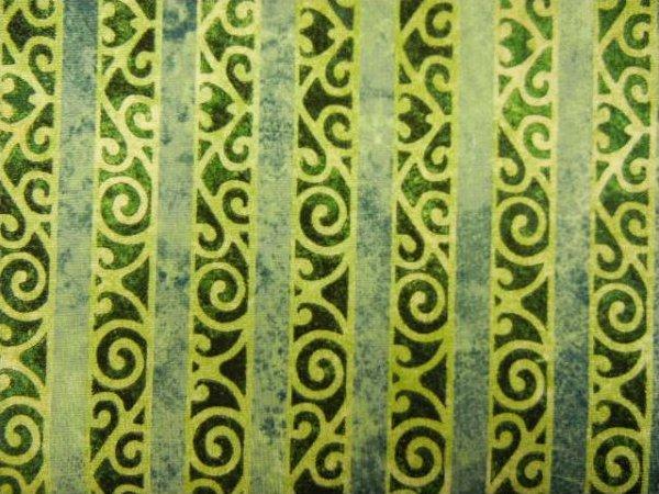 Stonehenge - Teal Stripe