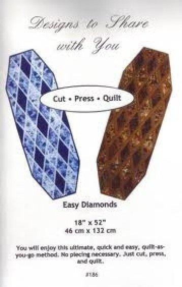Easy Diamonds Table Runners