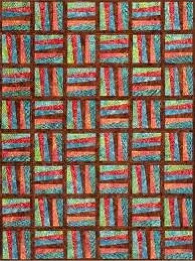 Zip Strip Quilt