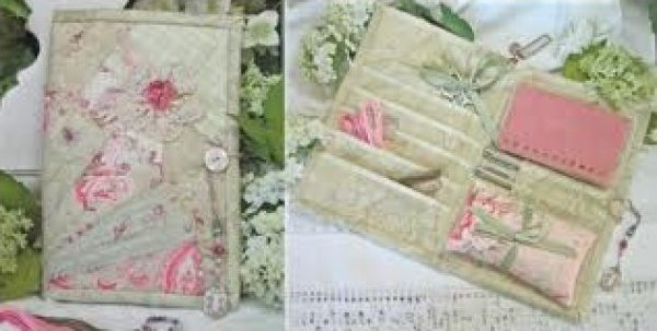 Wild Rose Sewing Wallet