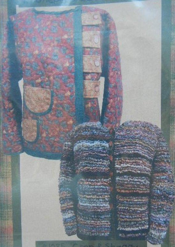 Crop & Shaggy Chic Jackets