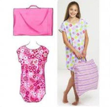 Girls' Sleep Shirt & Pillowcase