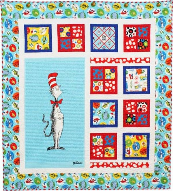 The Magical Cat in the Hat Quilt Kit
