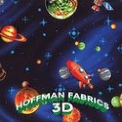 3 D fabrics from Hoffman